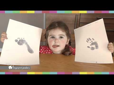 FPJ Hand / Footprint Impression Kit instructions