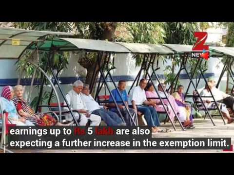 Budget 2017: Here's what senior citizens expect