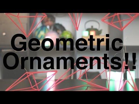 Geometric Ornaments!!
