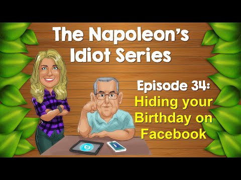 Hiding your birthday on Facebook PLUS a surprise for Dad