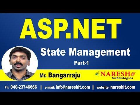 ASP.NET State Management Part-1 | ASP.NET Tutorials | Mr.Bangar Raju