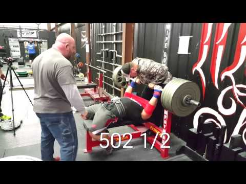 EASY Paused 455 bench and 502 slingshot