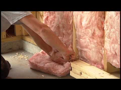 How to Insulate a Garage Wall