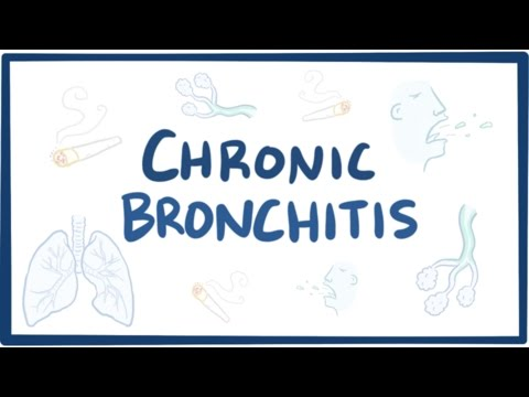 Chronic bronchitis (COPD) - causes, symptoms, diagnosis, treatment & pathology