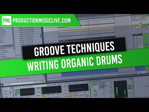 Drum Groove Techniques with Ableton Live 9