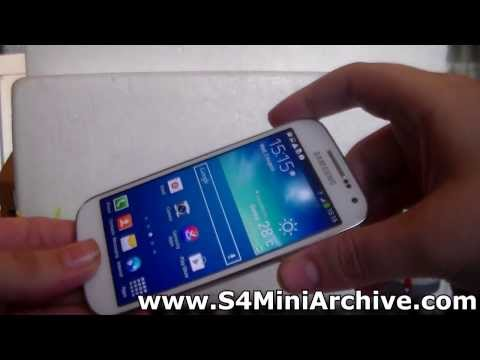 How to take screenshots on Samsung Galaxy S4 Mini