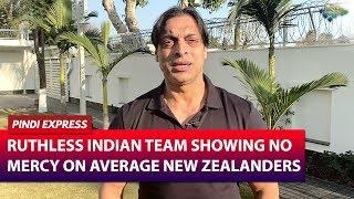 India Completely Dominated New Zealand | India vs New Zealand | 2nd T20I | Shoaib Akhtar