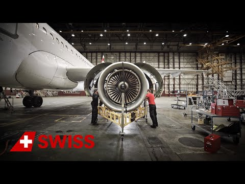 SWISS Technical Division - Aircraft Engines | SWISS