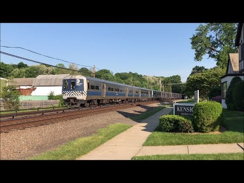 Metro-North Railroad HD 60fps: Harlem Line PM Rush Hour @ Kensico Cemetery (5/29/18)