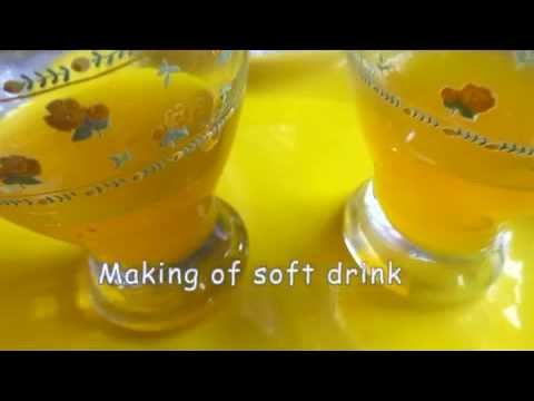 How to Make Soft  Drink at Home