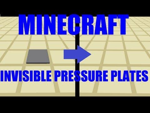 Minecraft Redstone Showcase - Invisible Pressure Plates