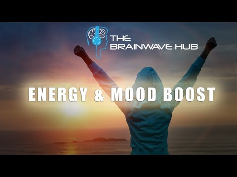 Energy Boost & Mood Enhancer - Get Motivated! - Binaural Beats With Uplifting Music