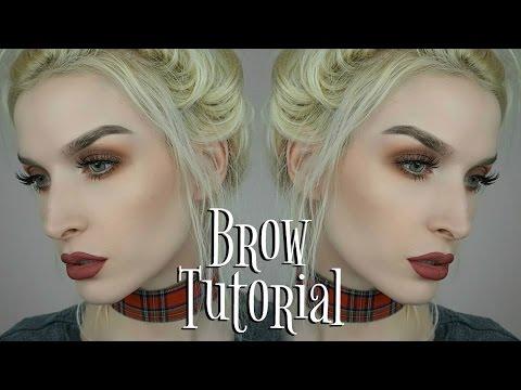 Step by Step Brow Tutorial
