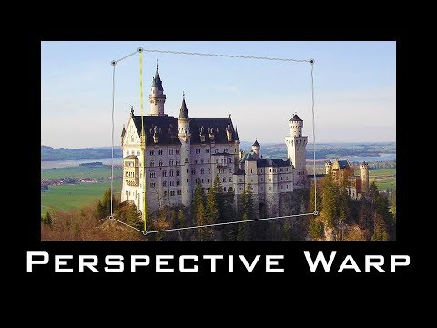 Photoshop CC Tutorial:  How to Use Perspective Warp!