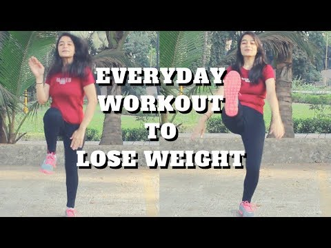 Everyday Workout To Lose Weight | 5 Simple Exercises | WORKitOUT