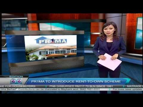 1Malaysia People Housing Program PRIMA introduce Rent To Own Scheme