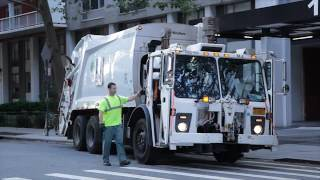 Download A New York sanitation worker Video