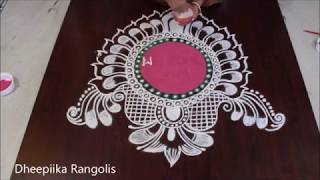 Happy New Year Rangoli Design Gallery 41
