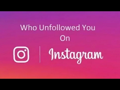 How to check who unfollowed you on instagram