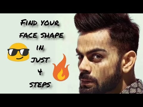 How to identify face shape|sunglasses|hair style in 4 steps
