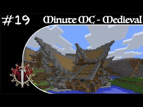 Minute Minecraft - Time Lapse - Medieval Village - Ep.19
