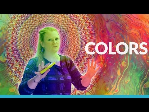 Basic English Vocabulary: COLORS