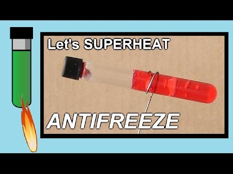 ANTIFREEZE vs GAS TORCH -  Can you guess what happens?