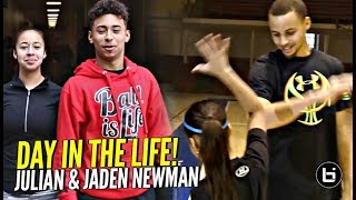 """Julian & Jaden Newman: A Day In The Life!! Julian Addresses """"Overrated"""" Chants & More!!"""