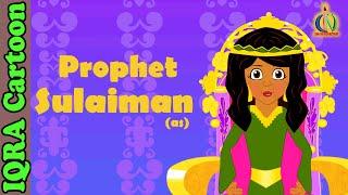Solaiman (AS) | Prophet story( No Music)| Islamic Cartoon | Islamic Kids Videos | Story for Children