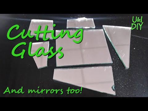 How to Cut Glass - DIY Quick Tip