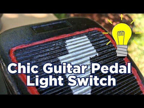 Ben Builds: DIY Chic Guitar Pedal Light Switch