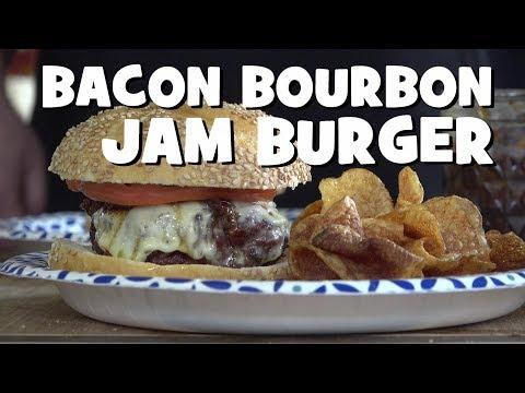 Bacon Bourbon Burger Jam