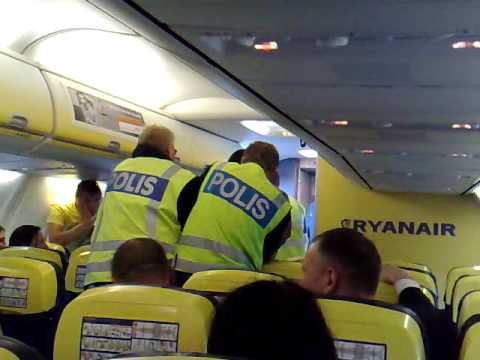 Ryanair flight London (Stansted) - Riga