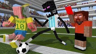 Monster School: World Cup 2018 - Minecraft Animation
