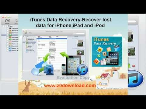 iTunes data recovery for Mac-How to recovere iphone and iTunes backup files from Mac?