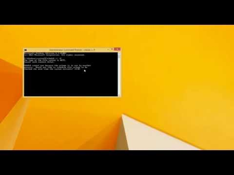 How to Repair Bad Sectors on Hard Drive in Windows 8