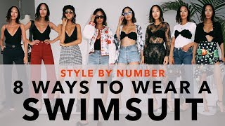 8 Ways to Wear a Swimsuit - Style by Number | Aimee Song