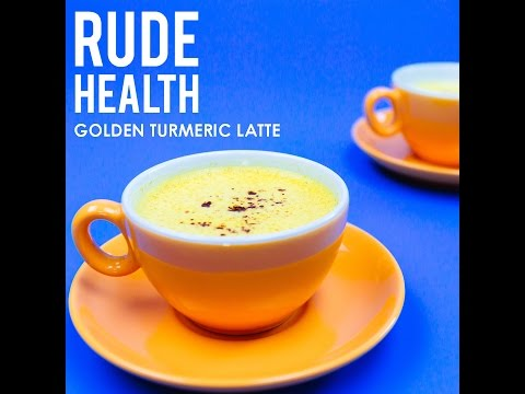Rude Health. How to make a Golden Milk Turmeric Latte