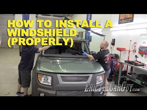 How To Install a Windshield the