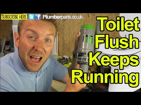 FIX WC OR TOILET THAT IS RUNNING AFTER FLUSH - PUSH BUTTON - Plumbing Tips