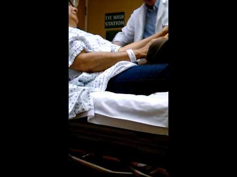 Nurse Edwards John's @ DobbsFerry St  John's Hosp Gives Keflex Intravenose