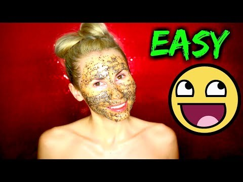 DIY Coffe Face Mask Restore Sun Damage and Get Beautiful Glowing Skin | DIANNA ADEL