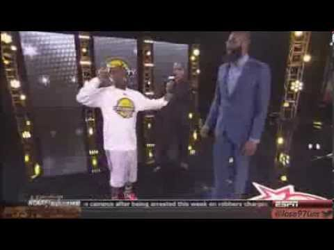 funny Kevin Hart at NBA Celebrity all star weekend 2013 HD Hilarious LOL houston