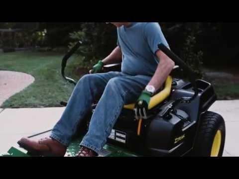 How To Change Fuel Filter | John Deere ZTrak Zero Turn Mower Maintenance