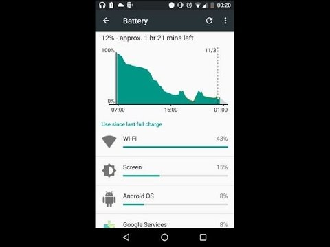 Fix battery drain problem due to Wi-Fi #  Android 6.0 # All devices , MOTO G4 plus  solution.