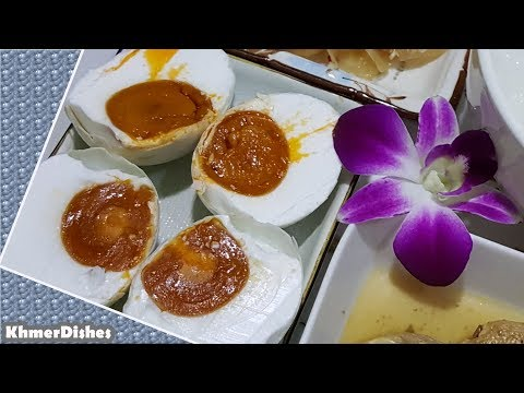 How to make salted eggs   Homemade Salted Duck Eggs   Salted Eggs for Breakfast