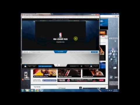 How to get around blackout rule on NBA League Pass