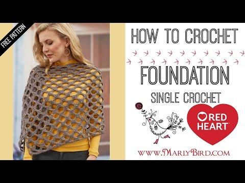 How to Foundation Single Crochet