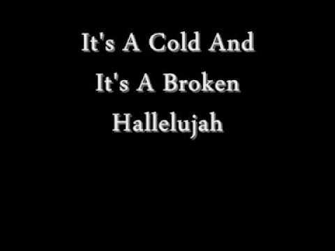 Hallelujah Official Karaoke Instrumental-Lyrics On Screen