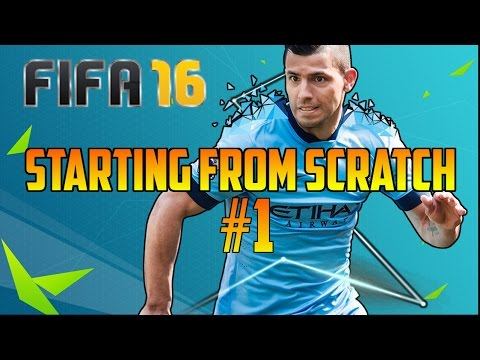 Fifa 16 - 'Manager Tasks!' - Starting From Scratch #1